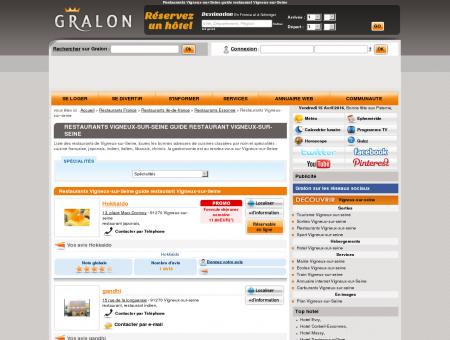 Restaurants Vigneux-sur-Seine guide...