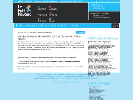 Restaurant Castelnau-Rivière-Basse. Toutes les...