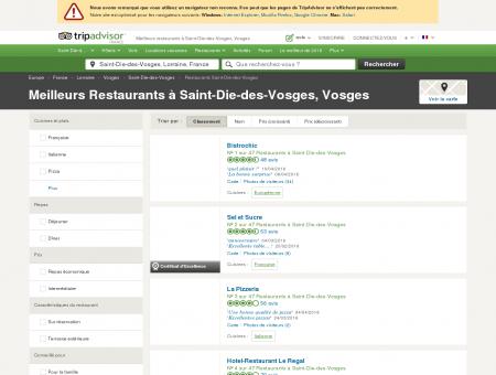 Les 10 meilleurs restaurants à Saint-Die-des...