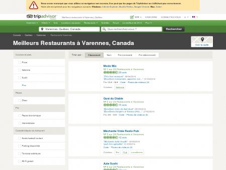 Les 10 meilleurs restaurants à Varennes -...
