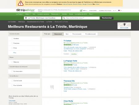 Les 5 meilleurs restaurants à La Trinite -...