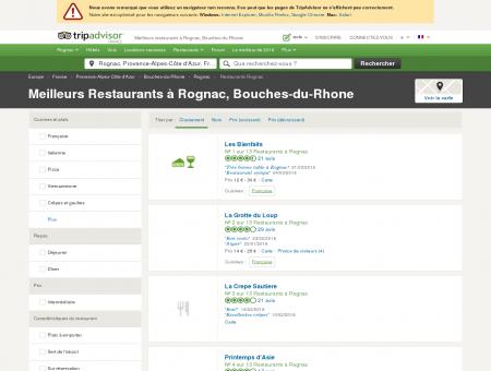 Les 10 meilleurs restaurants à Rognac -...
