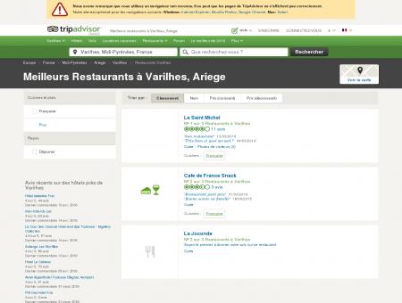 Les meilleurs restaurants à Varilhes - TripAdvisor