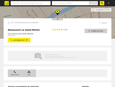 Restaurant Le Saint-Michel Varilhes (adresse,...