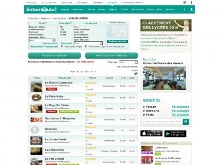 Restaurant Rueil Malmaison : Le guide des...