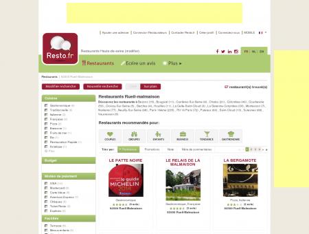 Restaurant Rueil-Malmaison - Guide...