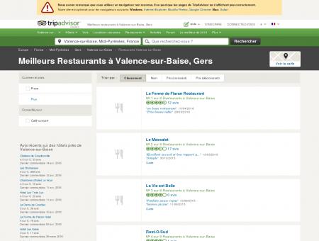Les 5 meilleurs restaurants à Valence-sur...