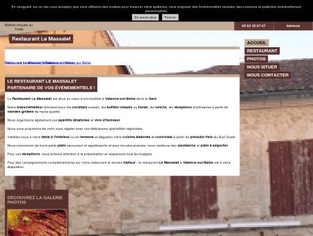 Restaurants - Restaurant Le Massalet à...