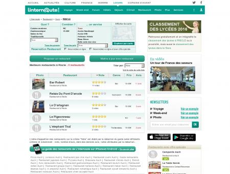 Restaurant Riscle : Le guide des meilleurs...