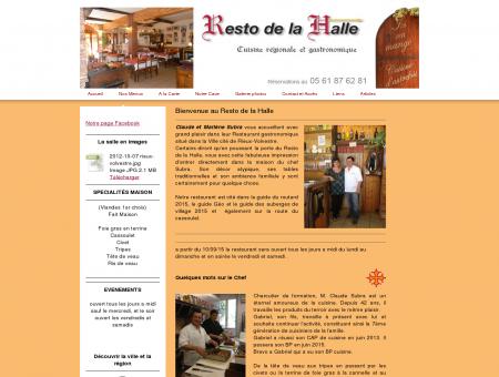Accueil - Resto de la Halle à Rieux Volvestre,...