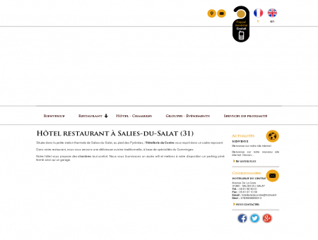 Hôtel-restaurant  Salies-du-Salat  ...