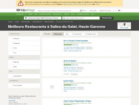 Les 5 meilleurs restaurants à Salies-du-Salat -...