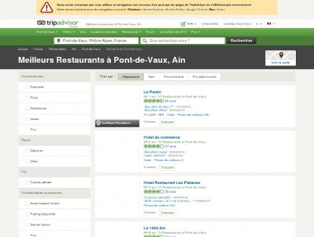 Les 10 meilleurs restaurants à Pont-de-Vaux -...