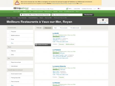 Les 10 meilleurs restaurants à Vaux-sur-Mer -...