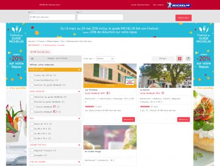 Restaurants 01190 Pont-de-Vaux - MICHELIN...