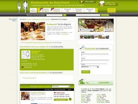 Restaurant à vic-en-bigorre - Guide des...