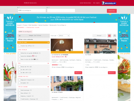 Restaurants 65500 Vic-en-Bigorre -...