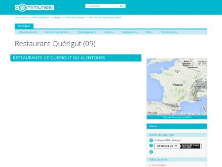 Restaurant Quérigut (09) - Restaurants à...