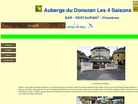 accueil Hôtel Restaurant Auberge du Donezan...