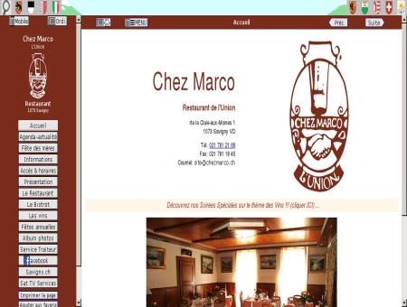 Chez Marco - Restaurant à Savigny...
