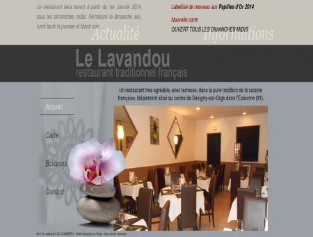 Le Lavandou restaurant traditionnel - Accueil