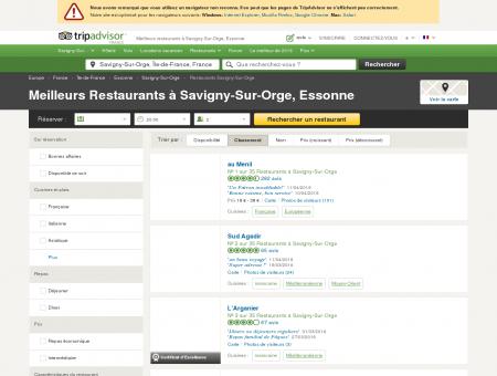 Les 10 meilleurs restaurants à Savigny-Sur...