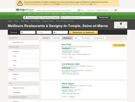 Les 5 meilleurs restaurants à Savigny-le...