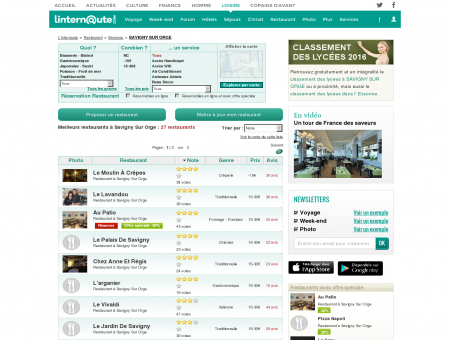 Restaurant Savigny Sur Orge : Le guide des...