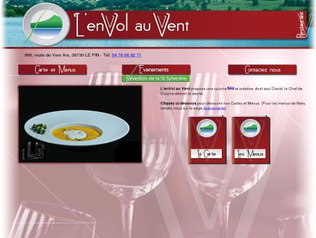 Restaurant L'enVol au Vent, Le Pin