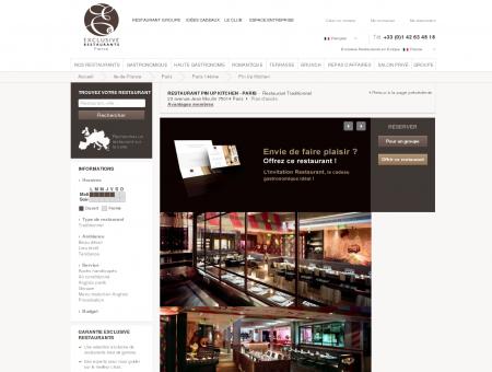 Restaurant Pin Up Kitchen Traditionnel Paris -...