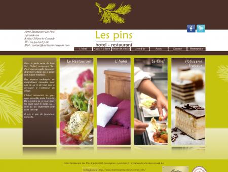 Restaurant les pins Hôtel Gorges du verdon -...