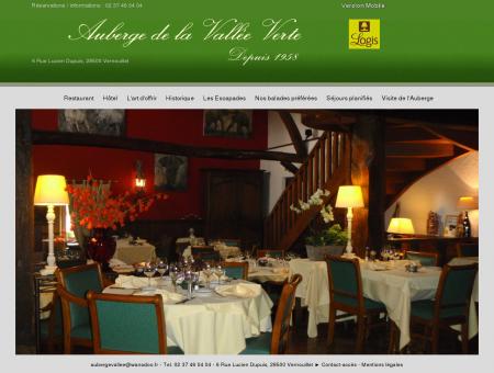 AUBERGE DE LA VALLEE VERTE - Hotel...