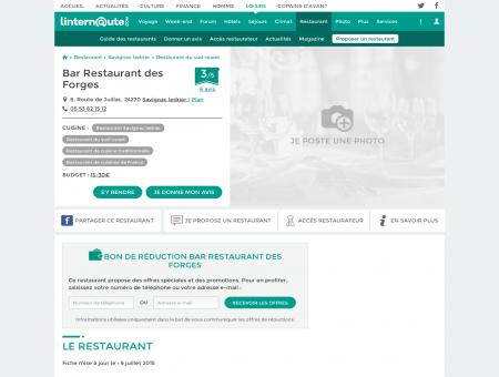 Bar Restaurant des Forges, restaurant de...