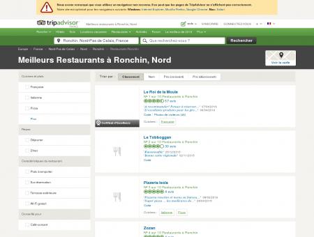 Les 10 meilleurs restaurants à Ronchin -...