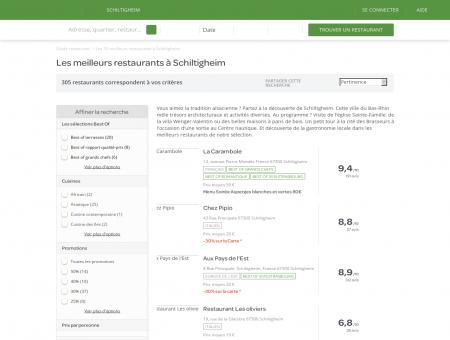 Les 10 meilleurs restaurants à Schiltigheim -...