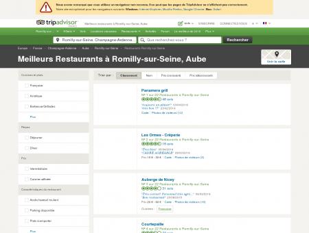 Les 10 meilleurs restaurants à Romilly-sur...