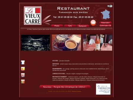 HOTEL RESTAURANT LE VIEUX CARRE -...