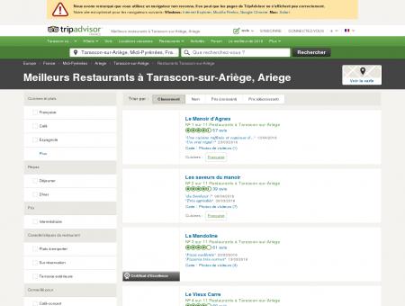 Les 10 meilleurs restaurants à Tarascon-sur...