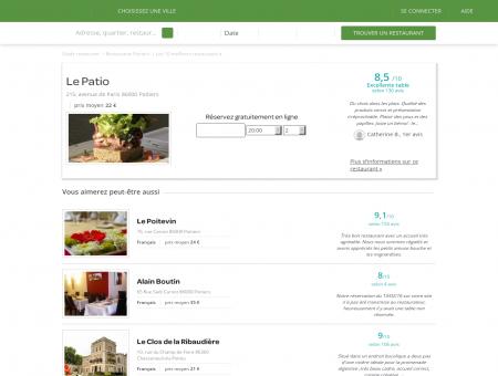 Restaurant Le Patio | le-patio.lafourchette.com
