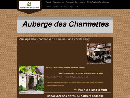 Auberge des Charmettes 15 Rue de Paris...