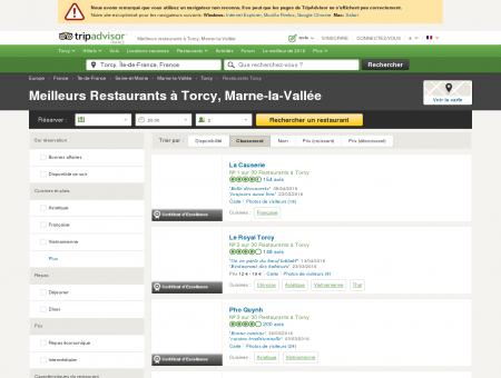 Les 10 meilleurs restaurants à Torcy -...