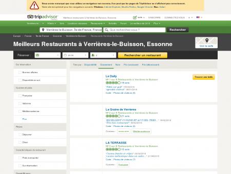 Les 5 meilleurs restaurants à Verrières-le...