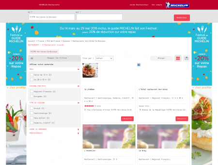 Restaurants 91370 Verrières-le-Buisson -...