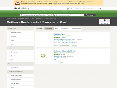 Les meilleurs restaurants à Sauveterre -...