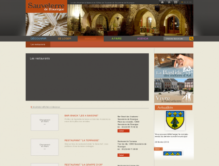 Les restaurants - Sauveterre de Rouergue,...
