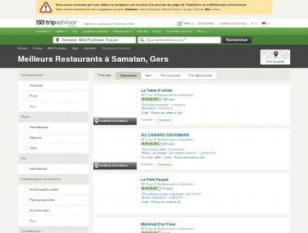 Les 5 meilleurs restaurants à Samatan -...