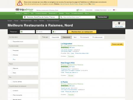 Les 5 meilleurs restaurants à Raismes -...