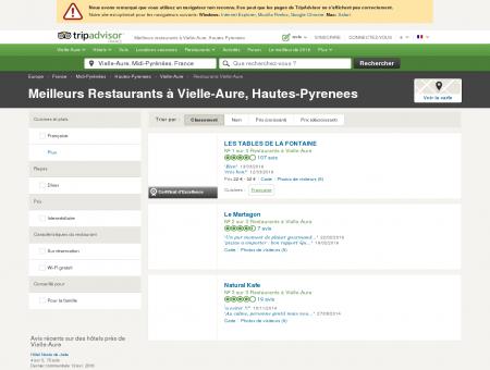 Les 5 meilleurs restaurants à Vielle-Aure -...