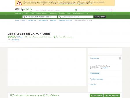 Les Tables de la Fontaine, Vielle-Aure -...