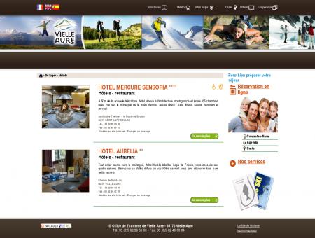 Liste des hôtels | Office de Tourisme de Vielle...